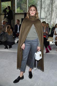Olivia Palermo At Paris Fashion Week X