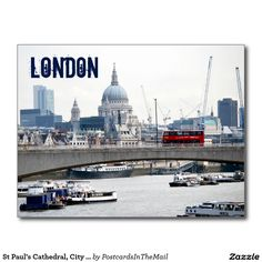 St Paul's Cathedral, City Of London, England Postcard