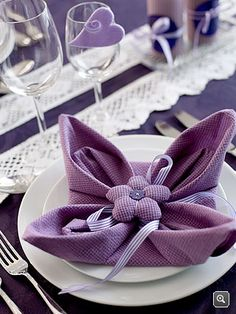 <3 napkin fold~Must Try,So Cute~ by @dasiru
