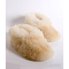 23bd17e80b4f Pristine white slippers in their fluffiest form! Made of 100% alpaca wool