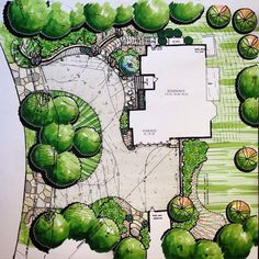 A beautiful property on the hill. Designing to optimize the view of the mountains in the distance. #SWH #landarch #landscapearchitecture #design #drawing #art