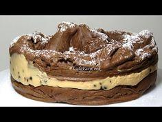 (7) Ах! какой Шоколадный торт КАРПАТКА Польский торт с карамельным заварным кремом KARPATKA cake recipe - YouTube