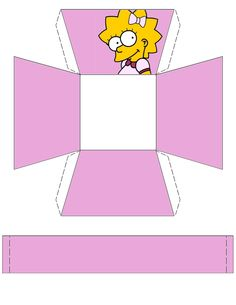 """The Simpsons """"Lisa"""" Basket .... free to use and free to share for personal use. <3"""