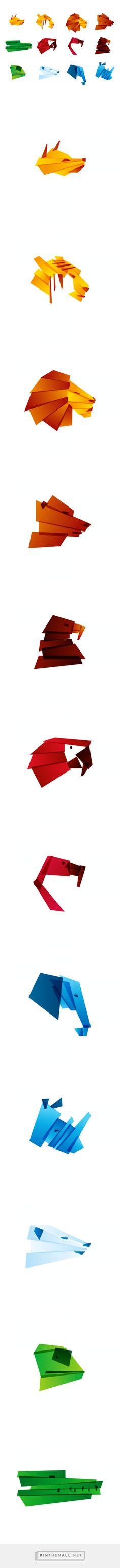 Zoo icons on Behance