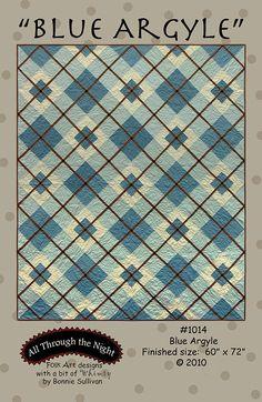 1014 Blue Argyle