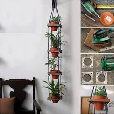 Learn How To Make A Hanging Plant Holder - Find Fun Art Projects to Do at Home and Arts and Crafts Ideas