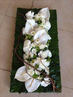 Funeral, Floral Arrangements, Flowers, Plants, Flower Arrangements, Manualidades, Flower Arrangement, Plant, Royal Icing Flowers