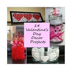 Southern Scraps : 14 Valentine's Day decor projects XO canvas