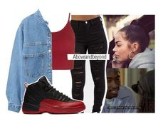 Ride on me like you're pac got me thinking it's 96' by aboveandbeyond on Polyvore featuring polyvore, moda, style, Topshop, WithChic, fashion and clothing