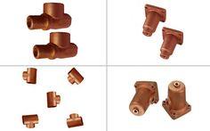 Bronze Casting #BronzeCasting Copper, Brass, Raw Materials, It Cast, Bronze, Raw Material