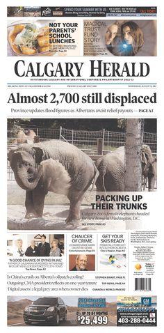 Calgary Herald, published in Calgary, Canada
