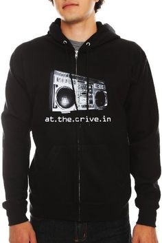 At The Drive-In Boombox Zip Hoodie 3XL $52.50