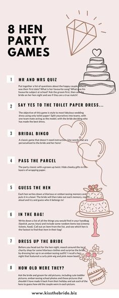 Plan the perfect hen or bachelorette party with these fabulous fun hen party games ideas. Perfect for a DIY hen party where your trying to entertain mixed age groups. #henparty #bacheloretteparty #henpartyideas #bacheloretteideas #weddingplanning #weddingtips #henpartygames #weddingideas #diyhenparty #diywedding Dinner Party Decorations, Christmas Party Themes, Balloon Decorations Party, Diy Wedding Hangers, Foil Wedding Stationery, Hen Party Badges, Bridal Bingo, Fairy Birthday Party, Bachelorette Party Games