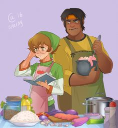 Pidge and Hunk by Autumn-Sacura on DeviantArt