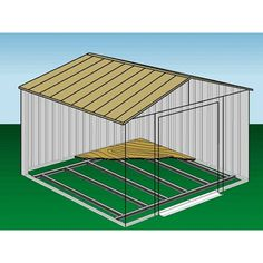 Free Shed Plans 10x12, Shed Floor Plans, Wood Shed Plans, Diy Shed Plans, Storage Shed Plans, Metal Storage Sheds, Building A Storage Shed, Metal Shed, Garden Storage Shed