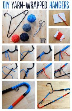 Color Block Yarn Hanger