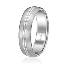 Scott Kay Men's Classic Band; Width 6mm (Product Style: C0521S60) #ScottKay #Bridal #Mens #WeddingBands