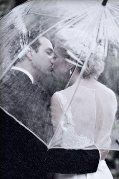 Mariages sous la pluie [Photos]