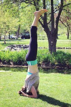 Yoga in the park! #Saratoga #yoga #yogapants