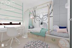 Dziewczęce pokoje - Mały pokój dziecka, styl skandynawski - zdjęcie od ROOM STUDIO