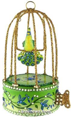 Maillardet Songbird (Peacock) Patricia Breen Designs