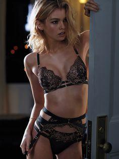 Make them look. | Victoria's Secret Strappy Crossback Push-Up Bra