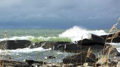 Sea breakers, Pori Finland by Matti Nurmi