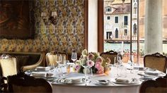 Book your escape at The Gritti Palace, a Luxury Collection Hotel, Venice. Our exclusive Venice hotel offers luxury accommodations & unmatched experiences. Italian Wedding Venues, Deep Soaking Tub, Luxury Collection Hotels, Wedding Set Up, Restaurant Tables, Hotel Reservations, Luxury Accommodation, Ancient Architecture, Wine Tasting