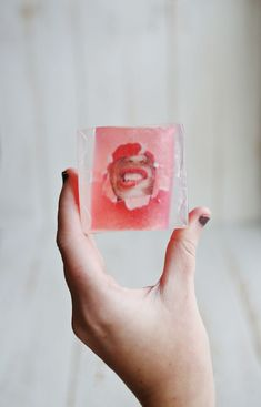 These fun DIY photo soaps make for some truly unique stocking stuffers!
