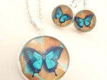 Schmetterling ✿ Schmuckset Nr. 26