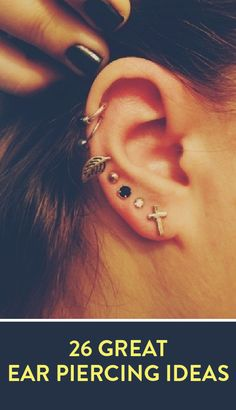 26 great ear piercing ideas