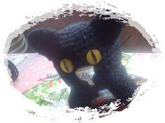 gatito a crochet