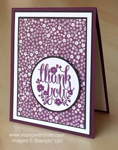 A Whole Lot of Lovely, Stampin' Up!, Brian King