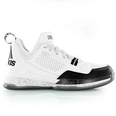 13a44764908c6 adidas D LILLARD white black gold