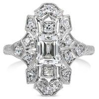 1940's era ring. Beautiful!