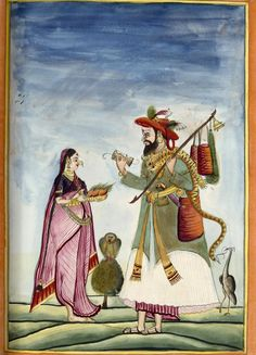 Shaaivite mendicant, 1785