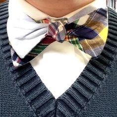 Awesome mix for a unique looking bow-tie