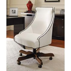 Century 3769R  Omni Executive Chair available at Hickory Park Furniture Galleries