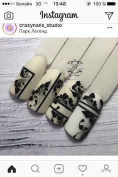 Super nails almond flowers one stroke 17 ideas 3d Nail Art, Swirl Nail Art, Lace Nails, Flower Nails, Sculpted Gel Nails, Nail Art Wheel, Nagel Hacks, Manicure Y Pedicure, Bridal Nails