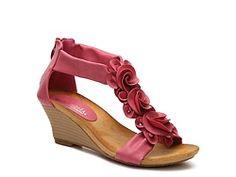 27afbb80399 Patrizia by Spring Step Harlequin Wedge Sandal Spring Step