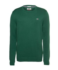 tommy-jeans-trui-groen-dm0dm05068 Stylish Mens Outfits, Stylish Clothes, Pullover, Jeans, Sweaters, Fashion, Moda, La Mode, Sweater