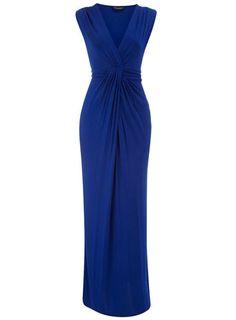 cobalt maxi dress