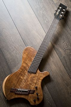 """No#016 1 by Walterson Guitars Scale length: 25-26,125"""" Body: figured Hard Ash…"""