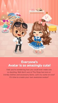 Everyones avatar are amazing cute!