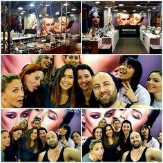 #Beautygreece, #exhibitionspringsummer2016!  #standno20-22, #kryolanbeautyteam #kryolanhellas, #makeupteam #3000κωδικοί #kryolanprofessionalproducts