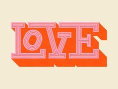 LOVE typography WIP typogaphy lettering type red p Typography Love, Typography Quotes, Typography Letters, Typography Poster, Graphic Design Typography, Lettering Design, Japanese Typography, Vintage Typography, Graphic Prints