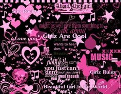 Punk Rock | see this impressive girl punk myspace layout girl punk skulls click to ...