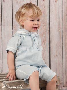 NILS - Aus Leinen! Taufanzug für kleine Matrosen! Sommertaufe! - Princessmoda - Alles für Taufe Kommunion und festliche Anlässe