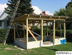 Porch Greenhouse, Greenhouse Plans, Gazebo, Plan Garage, Pub Interior, Building A Cabin, Hothouse, Fence Landscaping, Shed Storage