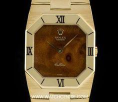 #Rolex 18k Yellow Gold #Rare #Wood Dial #Cellini #Vintage Gents #4350 Rolex Watches, Watches For Men, Rolex Cellini, Used Rolex, Dress Watches, Patek Philippe, Audemars Piguet, Black Opal, Famous Brands
